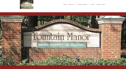 C@PSTONE Client - Fountain Manor Homeowners Association