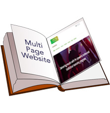 One page versus Multi Page websites