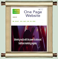 One page versus Multi Page websites