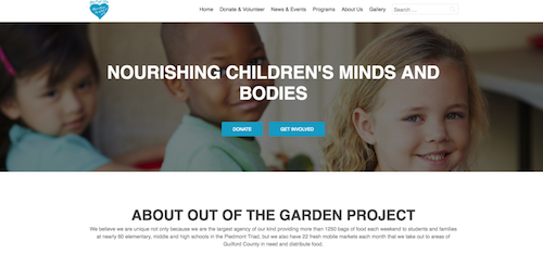 C@PSTONE supports the Out of the the Garden Project