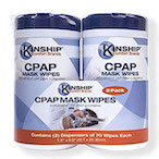 CPAP Wipes from C@PSTONE clent Kinship Comfort Brands